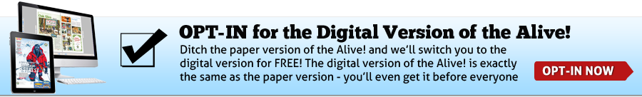 Ditch the Paper Version of the Alive!