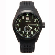 """LAPD """"Special"""" Engraved Watch-Black"""
