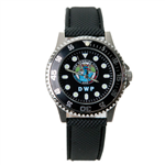 DWP Classic Seal Watch-Leather Band