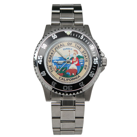 State Seal Watch-Stainless
