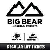 Big Bear/Snow Summit Lift E-Tickets