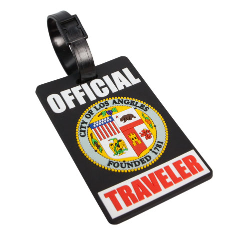 LA City Luggage Tag