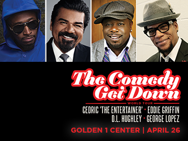 Comedy Get Down @ Golden 1 Center