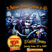 El Capitan-Nightmare Before Christmas 4D-10/27/12