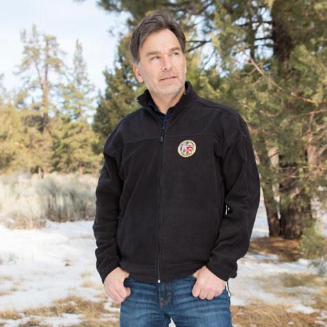 Men's Fleece with City Seal