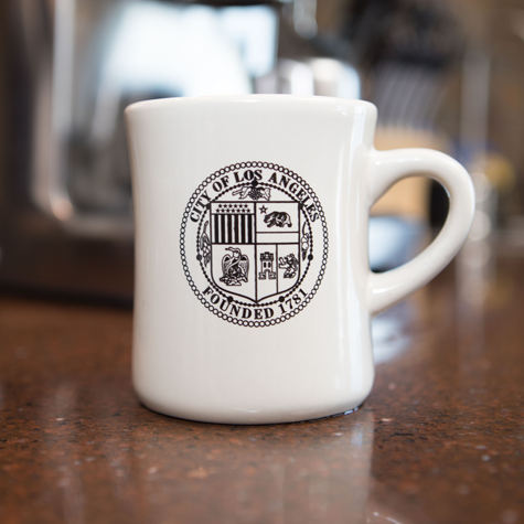 Diner Mug w/City of LA Seal