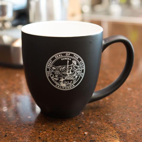 Bistro Mug w/State of California Seal