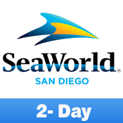 SeaWorld-2 Day-E-Ticket