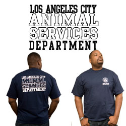 "Dept. Shirt-Animal Services <font color=""red"">CLEARANCE</font>"