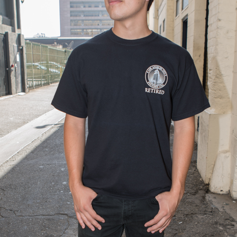 """City Seal One Color """"Retired"""" T-shirt"""