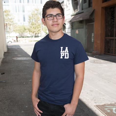 Department Men's T-Shirt LAPD